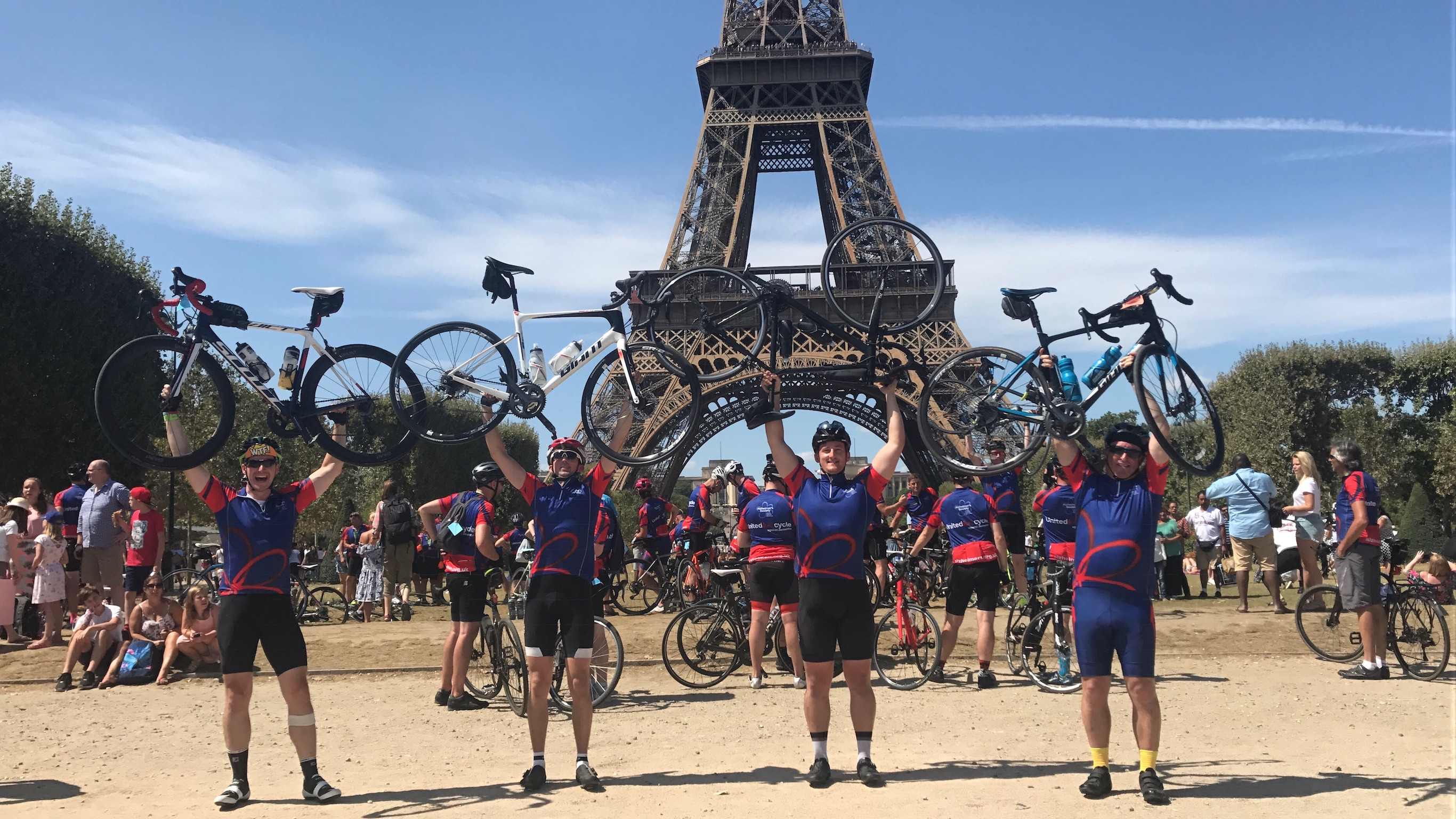London to Paris Cycle Challenge 2018 - The Boys did it