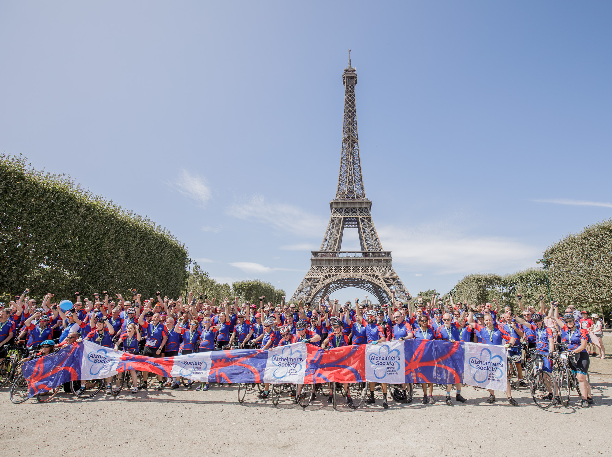 London to Paris Cycle Challenge 2018 - We all did it
