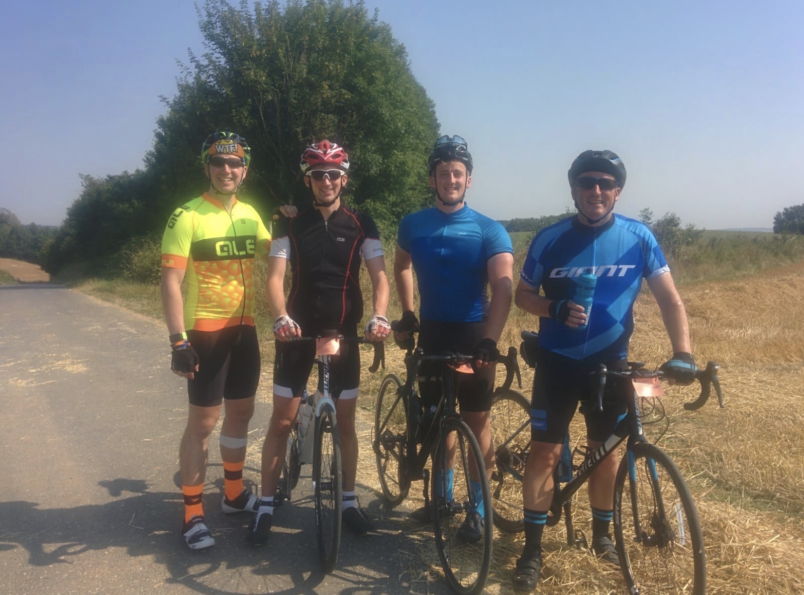 London to Paris Cycle Challenge 2018 - The Boys Day 2